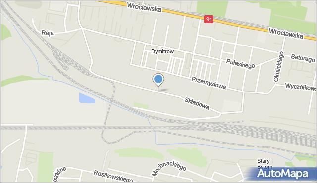 Bytom, Składowa, mapa Bytomia