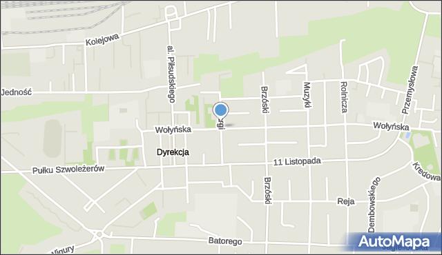 Chełm, Skargi Piotra, ks., mapa Chełma