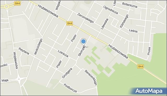 Chełm, Skorupki Ignacego Jana, ks., mapa Chełma