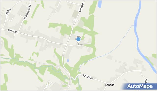 Koszyce Małe, Skalna, mapa Koszyce Małe