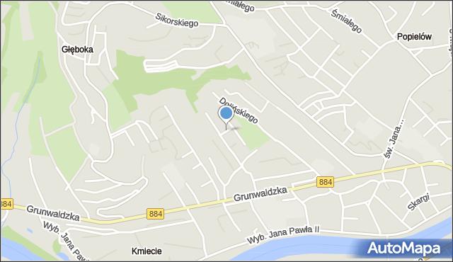 Przemyśl, Skłodowskiej-Curie Marii, mapa Przemyśla