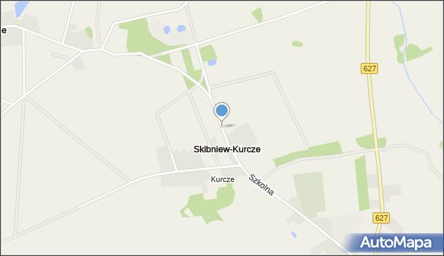 Skibniew-Kurcze, Skibniew-Kurcze, mapa Skibniew-Kurcze