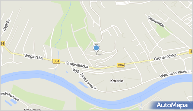 Przemyśl, Słabego Mieczysława, mjr., mapa Przemyśla