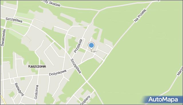 Toruń, Śliczna, mapa Torunia
