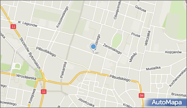 Bytom, Smolenia Jana, mapa Bytomia
