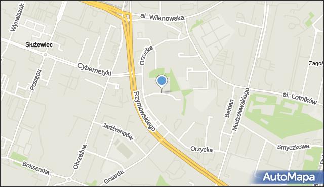 Warszawa, Śniardwy, mapa Warszawy