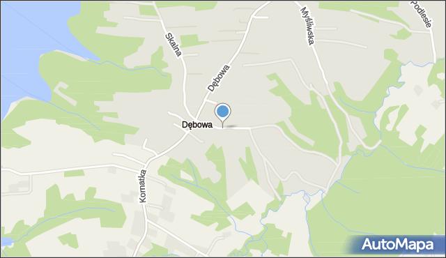 Dobczyce, Sosnowa, mapa Dobczyce
