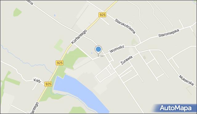 Mikołów, Solna, mapa Mikołów