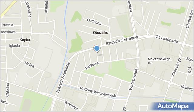 Radom, Solna, mapa Radomia