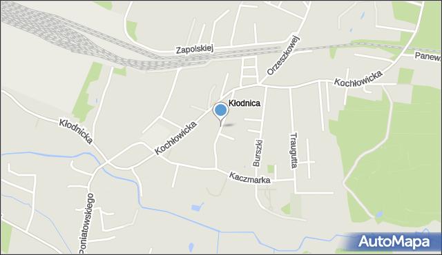 Ruda Śląska, Sosnowa, mapa Rudy Śląskiej