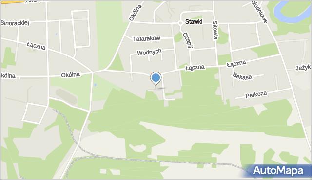 Toruń, Sowia, mapa Torunia