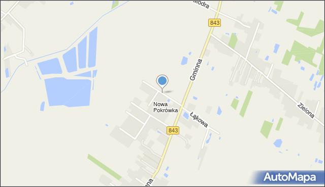 Pokrówka, Sportowa, mapa Pokrówka