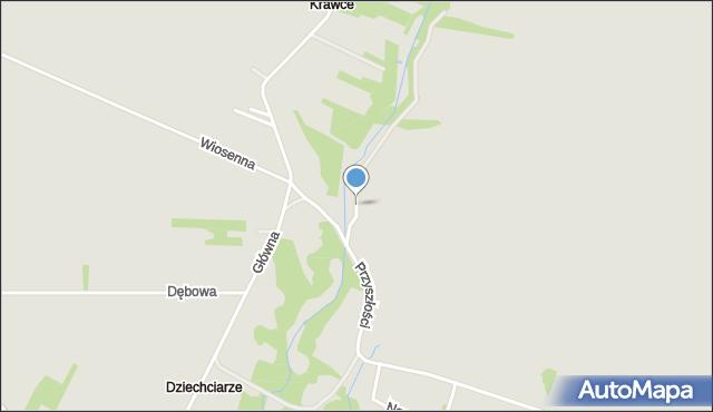 Poręba powiat zawierciański, Sporna, mapa Poręba powiat zawierciański