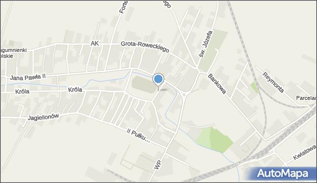 Żurawica powiat przemyski, Sportowa, mapa Żurawica powiat przemyski