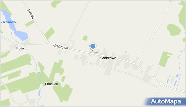 Srebrowo, Srebrowo, mapa Srebrowo