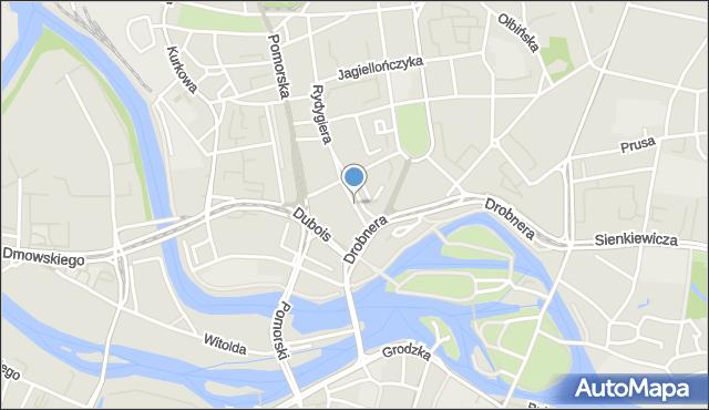 Wrocław, Śrutowa, mapa Wrocławia