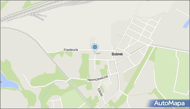 Bytom, Stalowa, mapa Bytomia