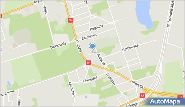 Bytom, Stroma, mapa Bytomia