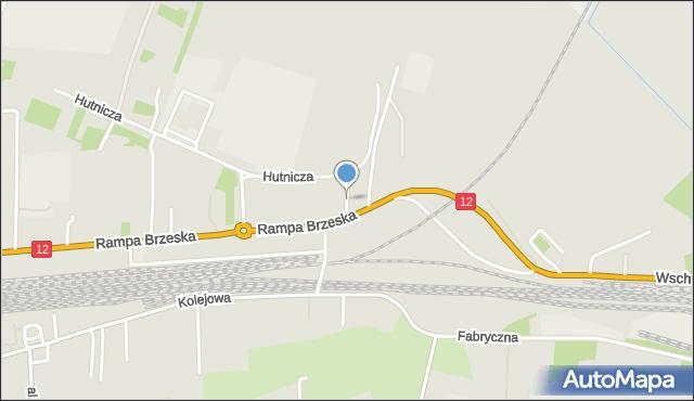Chełm, Stolarska, mapa Chełma