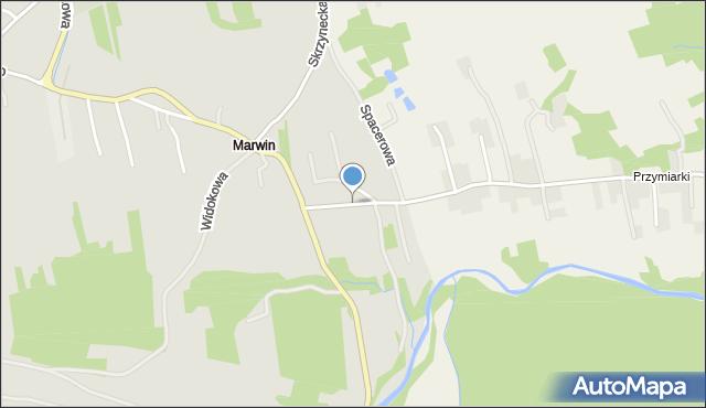 Dobczyce, Stadnicka, mapa Dobczyce