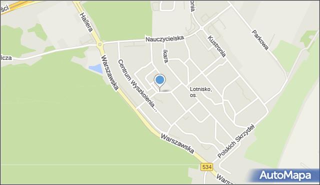 Grudziądz, Stachonia Bolesława, ppłk. pil., mapa Grudziądza