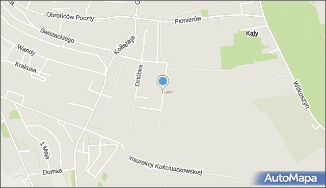 Jaworzno, Stoleckiego Kazimierza, mapa Jaworzno