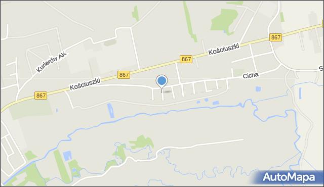 Lubaczów, Staffa Leopolda, mapa Lubaczów