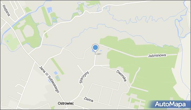 Lubaczów, Strażacka, mapa Lubaczów
