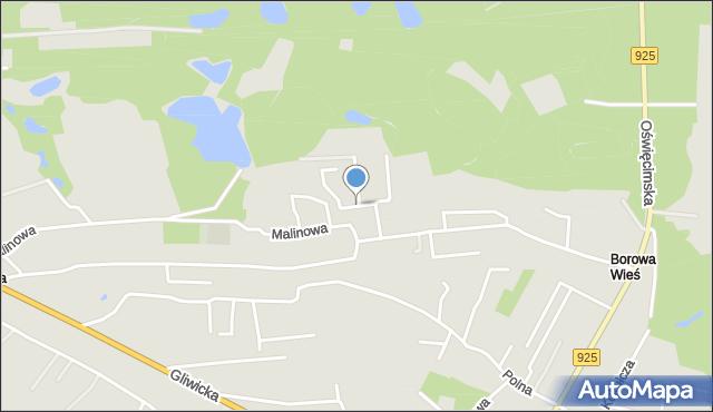 Mikołów, Stokrotek, mapa Mikołów