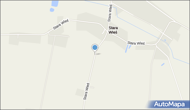 Stara Wieś gmina Mircze, Stara Wieś, mapa Stara Wieś gmina Mircze