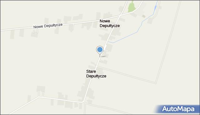 Stare Depułtycze, Stare Depułtycze, mapa Stare Depułtycze