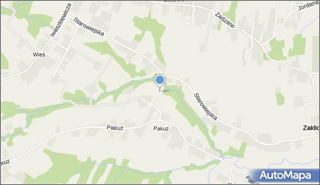 Zakliczyn gmina Siepraw, Stroma, mapa Zakliczyn gmina Siepraw