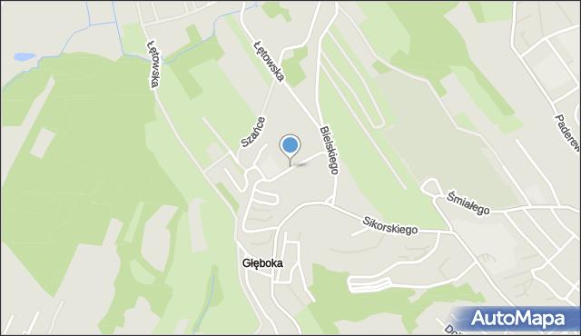 Przemyśl, Swobodna, mapa Przemyśla