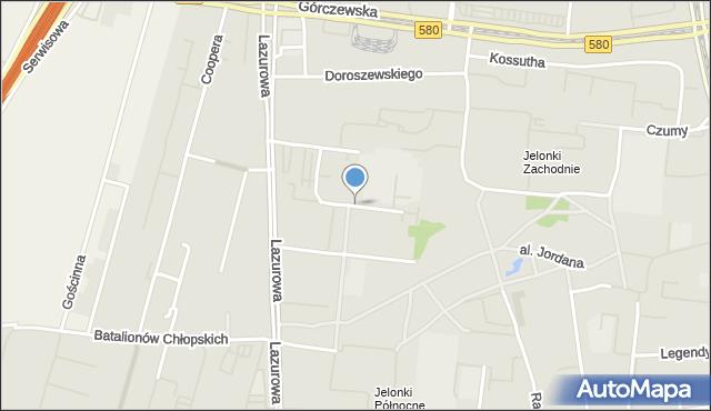 Warszawa, Świętochowskiego Aleksandra, mapa Warszawy