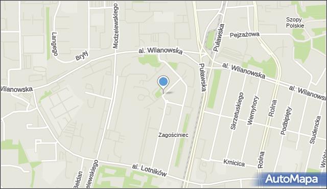 Warszawa, Świeradowska, mapa Warszawy
