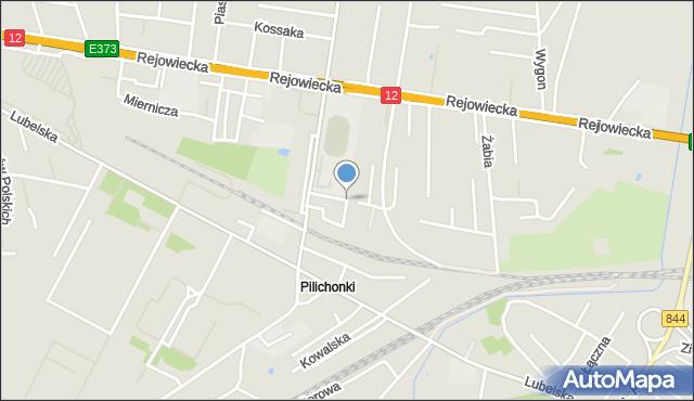 Chełm, Szymczakowskiego Zygmunta, mapa Chełma