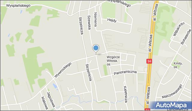 Rzeszów, Szewska, mapa Rzeszów