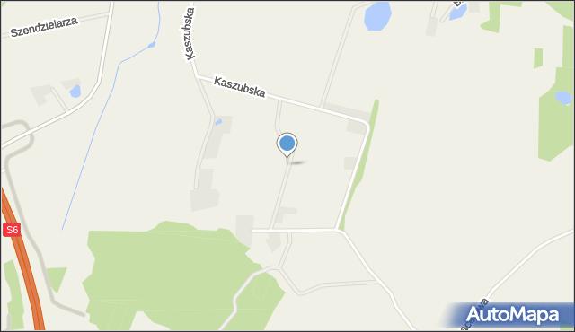 Sychowo, Szarych Szeregów, mapa Sychowo