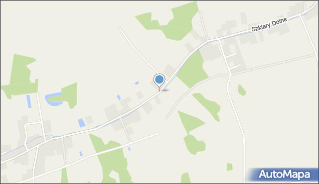 Szklary Dolne, Szklary Dolne, mapa Szklary Dolne