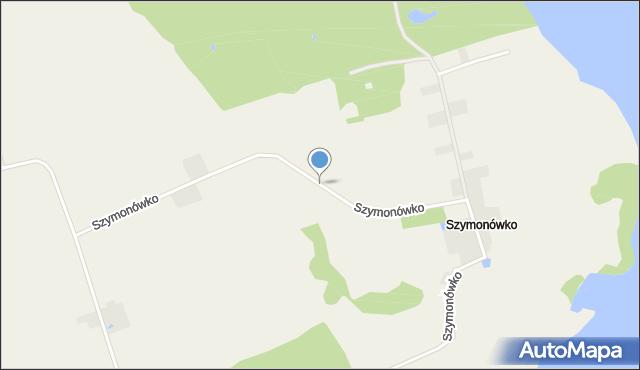 Szymonówko, Szymonówko, mapa Szymonówko