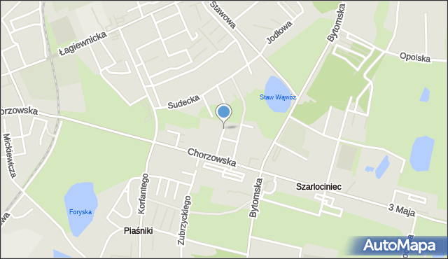 Świętochłowice, Tatrzańska, mapa Świętochłowice