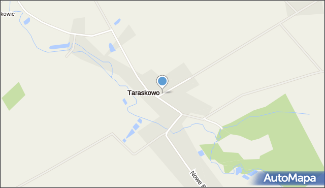 Taraskowo, Taraskowo, mapa Taraskowo