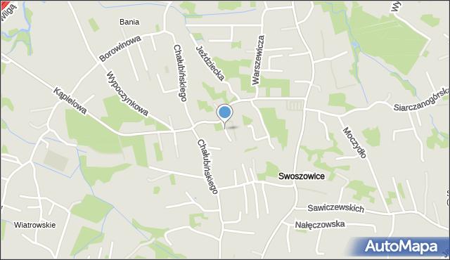 Kraków, Topiarnia, mapa Krakowa