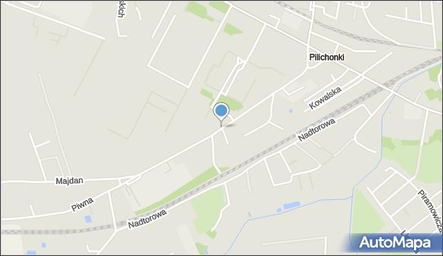 Chełm, Trubakowska, mapa Chełma