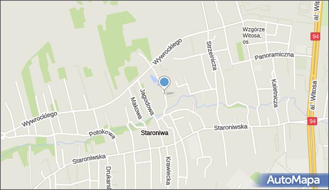 Rzeszów, Truskawkowa, mapa Rzeszów