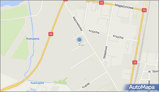 Grudziądz, Tuwima Juliana, mapa Grudziądza