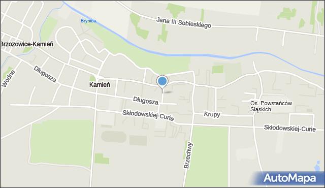 Piekary Śląskie, Wandy, mapa Piekary Śląskie