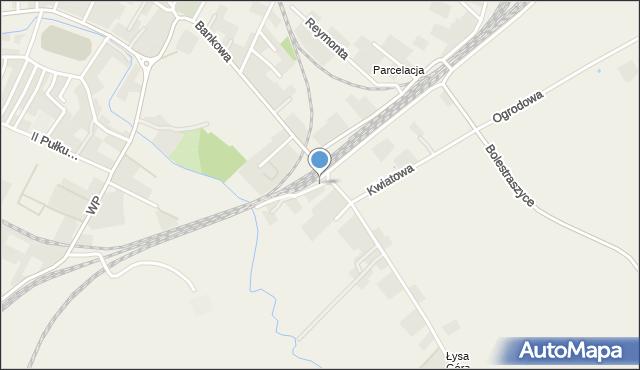 Żurawica powiat przemyski, Wapowskiego Bernarda, mapa Żurawica powiat przemyski