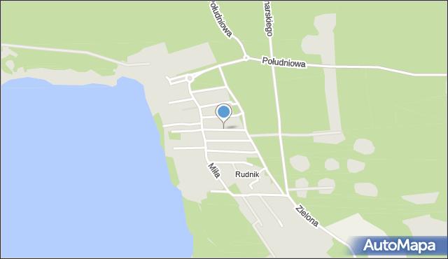 Grudziądz, Wczasowa, mapa Grudziądza