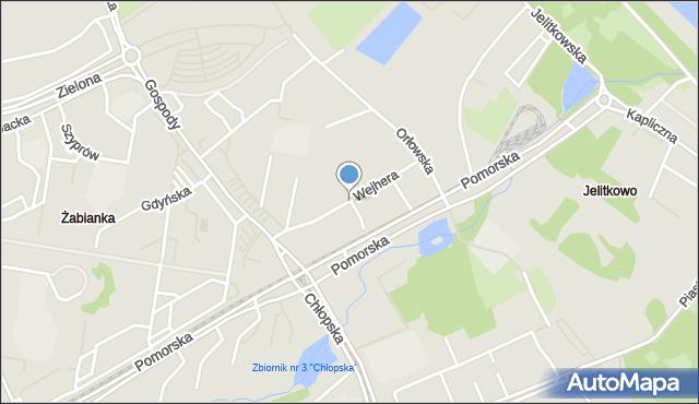 Gdańsk, Wejhera Jakuba, mapa Gdańska